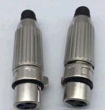 Heiße verkaufenverbinder-männlicher Stecker-Weibchen-Kontaktbuchse des RoHS Metall3 Pin-XLR