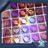 Пользовательские цвета радуги DOT Matrix Голографическая наклейка