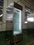 Холодильник супермаркета нержавеющей стали для напитка индикации
