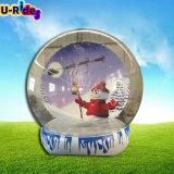 Publicidade Globos de neve insufláveis Bola Natal insufláveis Mostrar Bola para venda