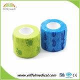 Nichtgewebter elastischer zusammenhängendverband für medizinisches oder Veterinär