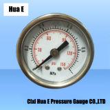 Com orifício Air-Bleed 40mm do alojamento de ferro do medidor de pressão pneumática