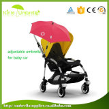 "Populärer nützlicher justierbarer Baby-Spaziergänger-Sonnenschirm 16 "" 8 Rippen-Regenschirm"