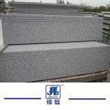 G603 de la piedra de granito gris claro el paso para el exterior