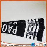 Sportfreund-Fußball-Fußball-Silk Satin-Schal