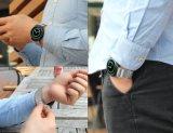 Bucle de plata Magentic malla 20 mm de la correa de reloj milanés engranaje para Samsung S2