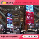 Горячий P2.5 продаж для использования внутри помещений полноцветный светодиодный экран рекламы для стационарной установки