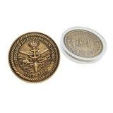 Monete militari di sfida del metallo dell'oro antico su ordinazione (CO06-C)