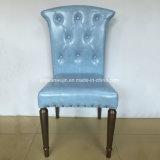 Стул стула металла голубой обедая самомоднейший для трактира (JY-F69)