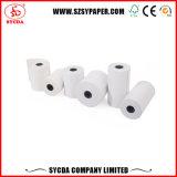 papel termal de 80mm*80m m para el rodillo del papel de caja registradora