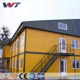 Сегменте панельного домостроения в стальной контейнер жилищного строительства временного жилья