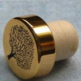 Opnieuw te gebruiken Cork van de Staaf van het Aluminium Hoogste Synthetische, Cork van het Polymeer Kurk