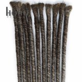 Prodotti per i capelli di modo singoli capelli sintetici conclusi di Dreadlocks di 20 pollici