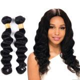Vague profonde cuticule alignés Virgin hair extension produit brésilien Jfy-009
