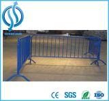 Barrera resistente galvanizada acero del control de muchedumbre del metal del HDG