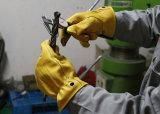 Верхней Части класса супер мягкий кожаный чехол из козьего молока Механические узлы и агрегаты рабочие перчатки