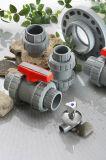 Клапан CPVC эры True тип шарикового клапана соединения, стандарта DIN/ANSI/NPT/BSPT/JIS/BS, тяжелых или светлых, с коробкой цвета (ASTM F1970) NSF-Pw & Upc