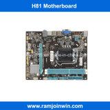 Image de marque nouvelle carte mère H81 LGA 1150, l'exploitation minière des cartes mères