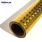 150um grosor holográfica rígido patrón grabado la película de PET