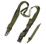 ハンチングのための空気柔らかい3つのポイントライフルの吊り鎖の調節可能なバンジーストラップ