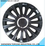 """Universal negra de plástico cubiertas de rueda del coche en 13""""15"""""""