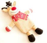 熱湯びんのための動物の人形デザインプラシ天カバー