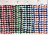 Le filé a teint la cravate contrôlée tissée de tissu de coton
