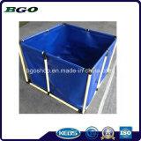 Bâche en pvc Fish Tank avec Étang du Poisson Bleu