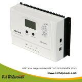 MPPT24z 15A-50um visor LCD do controlador de carga solar