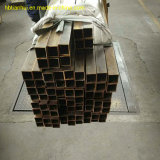 Tout droit tuyau en cuivre et laiton creux carré du tube de cuivre
