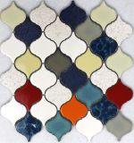 Mattonelle di mosaico di vetro popolari del pavimento e della parete del materiale da costruzione