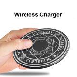 Telefone móvel de alta qualidade 10W Fast Círculo Mágico universal sem fio Carregador Sem Fio com tela de carregamento