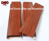 Appuyez sur la touche de chaleur du grain du bois papier de transfert