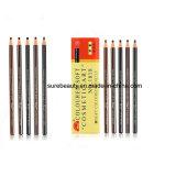 Eyeberow descascando um lápis de cor suave à prova de Cosméticos Lápis com espelho tatuagem sobrancelhas lápis cromáticos