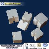 92 %&95 % de l'alumine de bloc céramique pour la protection de l'usure