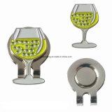 Elegante copo de vinho de Golfe de artesanato de metal Abraçadeira da PAC