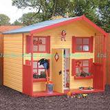 Maison de théâtre en bois d'enfants (QZW1017)