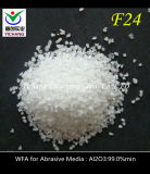 スプレーの穀物の白い溶かされたアルミナの屑F180