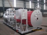 Natürlicher gasbeheiztheißöl-Dampfkessel (YQW)