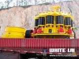 Weiße Lai Steinfelsen-Kegel-Zerkleinerungsmaschine für Kalkstein-Granit-Fluss SteinzerquetschenWlc1300