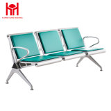 High Quality Public Area Iron 3-Seater Waiting Flesh