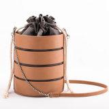 Alla moda d'avanguardia della signora di sacchetto di cuoio di Crossbody del sacchetto della benna di modo borsa