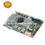 """Atom D525+Chipset ICH8 3.5"""" Mini Embedded Motherboard com Msata/WiFi/fonte de alimentação de 12V"""