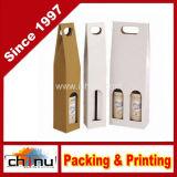 Fabricante de Equipos Originales de Regalo Personalizado Bolsa de Compras de Papel/para Vinos (2201)