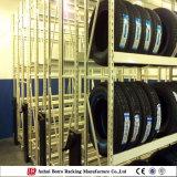 Cremalheira pesada do armazenamento do pneumático do carregamento