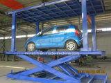 Scissor l'elevatore della piattaforma dell'automobile con la doppia piattaforma