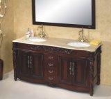 Armário de casa de banho de madeira armário de toucador (W-004)