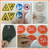 El logotipo de troquel personalizada etiqueta adhesiva resistente al agua
