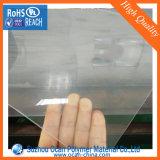 Изготовление листа PVC Jiangsu прозрачное твердое