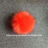 Décoration de sac de la fourrure de Fox de Faux POM POM